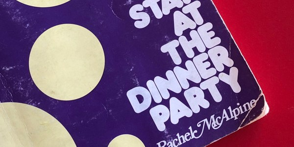 cover of book: STAY AT THE DINNER PARTY